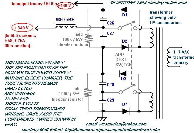 Harmony Amp Schematic on
